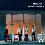 モーツァルト:弦楽四重奏曲第16番、第19番、ディヴェルティメント第1番 ヴァン・カイック四重奏団