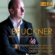 ミサ曲第3番、詩篇146、オルガン曲全集 ゲルト・シャラー(指揮&オルガン)、フィルハーモニー・フェスティヴァ、ミュンヘン・フィル合唱団(2CD)