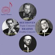 ベートーヴェン:三重協奏曲、ブラームス:ヴァイオリンとチェロのための二重協奏曲 スターン・トリオ、セル&クリーヴランド管弦楽団(1966年ライヴ)