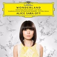 ピアノ協奏曲、抒情小曲集より、『ペール・ギュント』より アリス=紗良・オット、サロネン&バイエルン放送交響楽団
