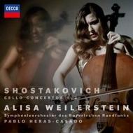 チェロ協奏曲第1番、第2番 アリサ・ワイラースタイン、エラス=カサド&バイエルン放送交響楽団