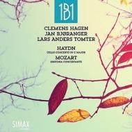 モーツァルト:協奏交響曲、ハイドン:チェロ協奏曲第1番 1B1、クレメンス・ハーゲン、ヤン・ビョーランゲル(音楽監督)