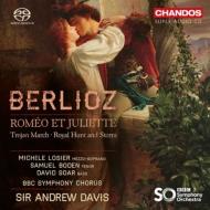 劇的交響曲『ロメオとジュリエット』 アンドルー・デイヴィス&BBC交響楽団、ミシェル・ロジエ、サミュエル・ボーデン、他(2SACD)