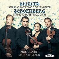 String Quartet, 2, : Kuss Q Erdmann(S)+brahms: String Quartet, 3, Lieder