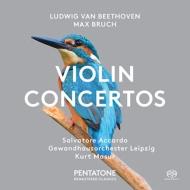 ベートーヴェン:ヴァイオリン協奏曲、ブルッフ:ヴァイオリン協奏曲第1番 サルヴァトーレ・アッカルド、クルト・マズア&ゲヴァントハウス管弦楽団