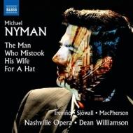 『妻を帽子とまちがえた男』 ディーン・ウィリアムソン&ナッシュヴィル・オペラ、マシュー・トレヴィーニ、ライアン・マックファーソン、他(2014 ステレオ)