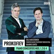 ピアノ協奏曲第3番、第1番、第4番 オッリ・ムストネン、ハンヌ・リントゥ&フィンランド放送交響楽団