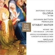 Pergolesi Stabat Mater, Vivaldi Gloria : Nikolaus Harnoncourt / Concentus Musicus Wien, McNair, E.Mei, Lipovsek, etc