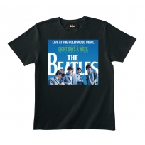 Live At The Hollywood Bowl Cover Black Tee S