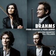 ブラームス:弦楽四重奏曲(全3曲)&ピアノ五重奏曲 ティル・フェルナー、ベルチャ弦楽四重奏団