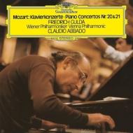 ピアノ協奏曲第20番、第21番 フリードリヒ・グルダ、クラウディオ・アバド&ウィーン・フィル