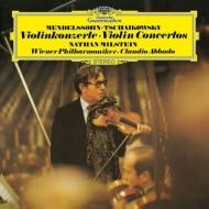 ヴァイオリン協奏曲(チャイコフスキー)、ヴァイオリン協奏曲(メンデルスゾーン):ミルシテイン、アバド指揮&ウィーン・フィルハーモニー管弦楽団 (アナログレコード)