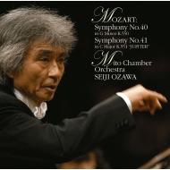 交響曲第40番、第41番『ジュピター』 小澤征爾&水戸室内管弦楽団