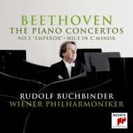 ピアノ協奏曲第5番『皇帝』、第3番 ルドルフ・ブッフビンダー、ウィーン・フィル