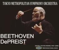 交響曲第3番『英雄』、第6番『田園』、第7番、第8番、第9番『合唱』 ジェイムズ・デプリースト&東京都交響楽団(4CD)