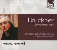 交響曲第7番 フィリップ・ヘレヴェッヘ&シャンゼリゼ管弦楽団