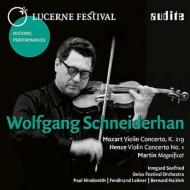 ヘンツェ:ヴァイオリン協奏曲第1番、モーツァルト:トルコ風、マルタン:マニフィカト ヴォルフガング・シュナイダーハン(ルツェルン音楽祭1964,1952,1968)