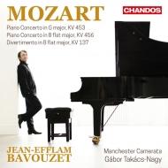 ピアノ協奏曲第17番、第18番、他 ジャン=エフラム・バヴゼ、ガボル・タカーチ=ナジ&マンチェスター・カメラータ