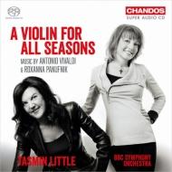 ヴィヴァルディ:四季、ロクサナ・パヌフニク:世界の四季 タスミン・リトル、BBC交響楽団