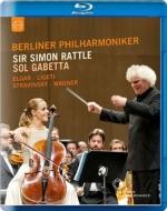ストラヴィンスキー:春の祭典、リゲティ:アトモスフェール、エルガー:チェロ協奏曲、他 サイモン・ラトル&ベルリン・フィル、ソル・ガベッタ(2014)