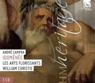 歌劇『イドメネ』全曲 ウィリアム・クリスティ&レザール・フロリサン、ドルトレ、ピオー、他(1991 ステレオ)(3CD)