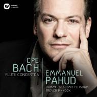 Flute Concertos: Pahud(Fl)Pinnock / Kammerakademie Potsdam