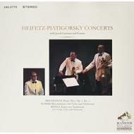 ハイフェッツ・ピアティゴルスキー・コンサート〜ベートーヴェン、ハイドン、ロージャ (180グラム重量盤レコード/Impex)