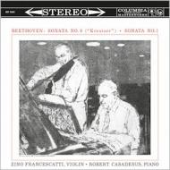 ヴァイオリン・ソナタ第9番、第1番:ジノ・フランチェスカッティ(ヴァイオリン)、ロベール・カサドシュ(ピアノ)(180グラム重量盤レコード/Speakers Corner)