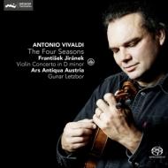 ヴィヴァルディ:『四季』、イラーネク:ヴァイオリン協奏曲 グナール・レツボール、アルス・アンティクヮ・オーストリア