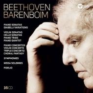 ダニエル・バレンボイム ベートーヴェン録音集〜交響曲全集、ピアノ協奏曲全集、ピアノ三重奏曲全集、ピアノ・ソナタ全集、『フィデリオ』全曲、他(35CD)