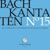 Cantatas Vol.15: R.lutz / J S Bach Stiftung O & Cho
