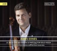 無伴奏ヴァイオリンのためのソナタとパルティータ全曲 ジェイムズ・エーネス(2CD)