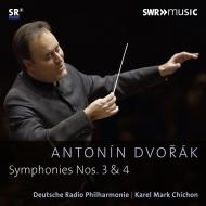 交響曲第3番、第4番 カレル・マーク・チチョン&ドイツ放送フィル