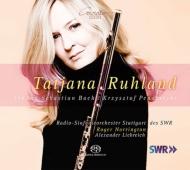バッハ:管弦楽組曲第2番、ペンデレツキ:フルートと室内管弦楽のための協奏曲、他 タティアナ・ルーラント、ノリントン、リープライヒ、シュトゥットガルト放送響