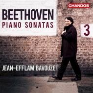 ピアノ・ソナタ集第3集-第22番〜第32番 ジャン=エフラム・バヴゼ(3CD)