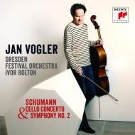 交響曲第2番、チェロ協奏曲 フォーグラー、ボルトン&ドレスデン祝祭管弦楽団