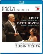 ベートーヴェン:ピアノ協奏曲第1番、リスト:ピアノ協奏曲第2番 カティア・ブニアティシヴィリ、ズービン・メータ&イスラエル・フィル