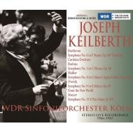 ヨーゼフ・カイルベルト&ケルン放送交響楽団ステレオ・ライヴ1966-67〜ベートーヴェン:田園、ブラームス:交響曲第1番、マーラー:交響曲第4番、ドヴォルザーク、他(4CD)