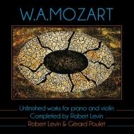 ピアノとヴァイオリンのための未完作品集 ジェラール・プーレ、ロバート・レヴィン