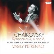 交響曲第6番『悲愴』、第4番、第3番 ワシリー・ペトレンコ&ロイヤル・リヴァプール・フィル(2CD)