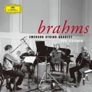 弦楽四重奏曲全集、ピアノ五重奏曲 エマーソン弦楽四重奏団、レオン・フライシャー(2CD)
