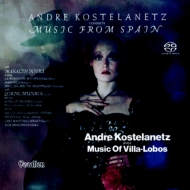 Music Of Villa-lobos & Conducts Music From Spain