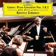 ピアノ協奏曲第1番、第2番:クリスティアン・ツィマーマン(ピアノ&指揮)&ポーランド祝祭管弦楽団 (2枚組/180グラム重量盤レコード)