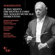 リムスキー=コルサコフ:シェエラザード 、スペイン奇想曲、ボロディン:だったん人の踊り、他 ズービン・メータ&フィレンツェ五月祭管弦楽団