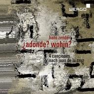 『?adonde? wohin?』 シルヴァン・カンブルラン、アンゲリカ・ルッツ、バイエルン放送合唱団、シュトゥットガルト声楽アンサンブル、他