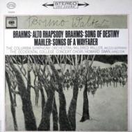 アルト・ラプソディ、運命の歌(ブラームス)、さすらう若者の歌(マーラー):ブルーノ・ワルター指揮&コロンビア交響楽団 (180グラム重量盤レコード/Speakers Corner)