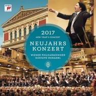 ニューイヤー・コンサート2017:グスターボ・ドゥダメル指揮&ウィーン・フィルハーモニー管弦楽団 (3枚組アナログレコード/Sony Classical)