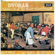 交響曲第9番「新世界より」、序曲「オセロ」:イシュトヴァン・ケルテス指揮&ロンドン交響楽団 (180グラム重量盤レコード)