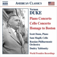 Piano Concerto, Cello Concerto, Etc: Scott Dunn(P)Magill(Vc)Yablonsky / Russian Po