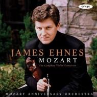 ヴァイオリン協奏曲全集 ジェイムズ・エーネス、モーツァルト・アニヴァーサリー・オーケストラ(2CD)